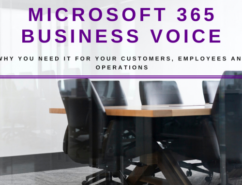 Why your Business Needs Microsoft Business Voice – an Infographic