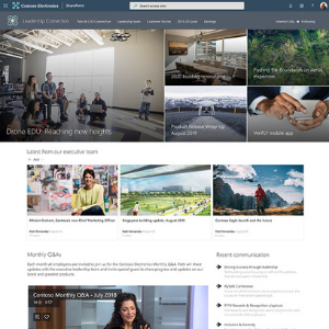SharePoint Design - Leadership Connection