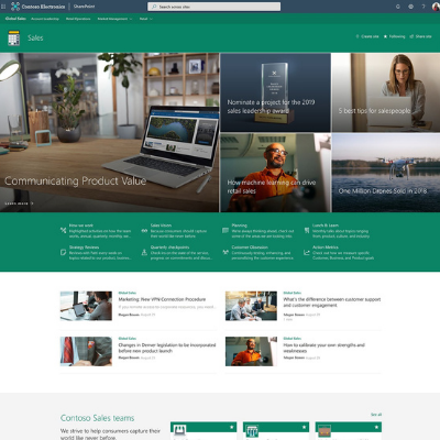 Sharepoint example